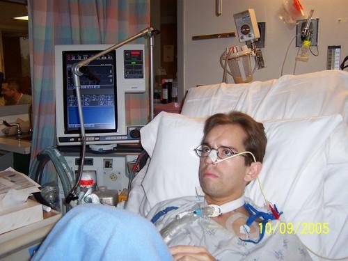 On the ventilator -- 10/9/05